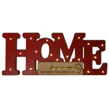 Lighted Home Wall Decor