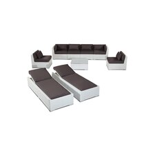 Maui 9 Piece Deep Seating Group