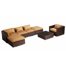 Lanai 7 Piece Deep Seating Group