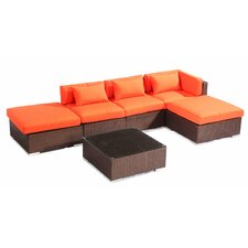 Poipu 6 Piece Deep Seating Group