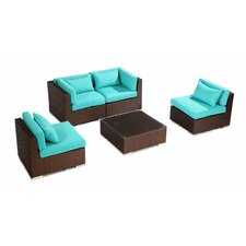 Kauna 5 Piece Deep Seating Group