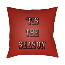 Tis the Season Indoor/Outdoor Throw Pillow