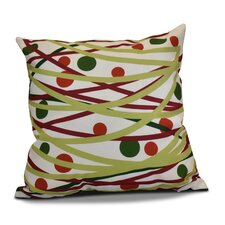 Doodle Decorations Outdoor Throw Pillow