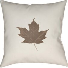 Maple Leaf Indoor/Outdoor Pillow