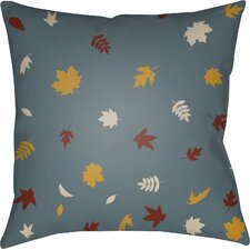 Falling Leaves Indoor/Outdoor Throw Pillow