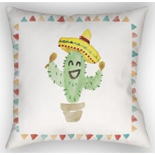 Cactus  Indoor/Outdoor Throw Pillow