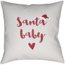 Santa Baby Indoor/outdoor Throw Pillow