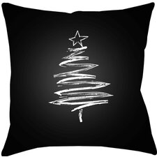 Trim the Tree Indoor/Outdoor Throw Pillow