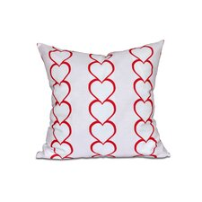 No Copoun Valentine's Day Outdoor Throw Pillow