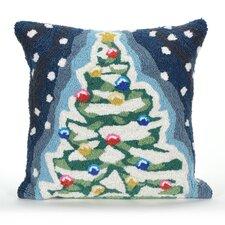 Xmas Tree Indoor/Outdoor Throw Pillow