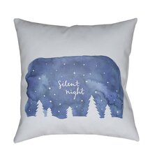 #2 Silent Night Indoor/outdoor Throw Pillow
