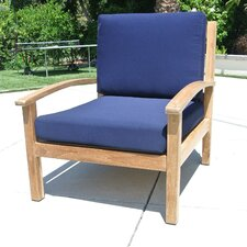 Outdoor Sunbrella Lounge Chair Cushion
