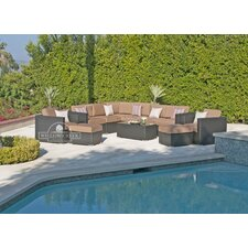 Sonoma 11 Piece Deep Seating Group with Cushion