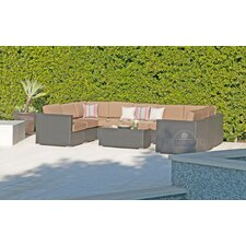 Sonoma 10 Piece Deep Seating Group with Cushion