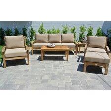 Huntington 6 Piece Deep Seating Group with Cushion