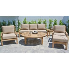 #2 Huntington 6 Piece Deep Seating Group with Cushion