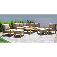 Huntington 6 Piece Deep Seating Group with Cushion