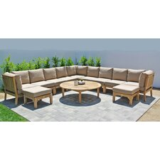Huntington 3 Piece Deep Seating Group with Cushion