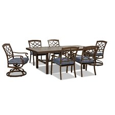 Purchase Outdoor 7 Piece Dining Set with Cushions