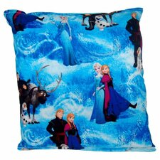 Frozen Multi-Character Indoor/Outdoor Throw Pillow