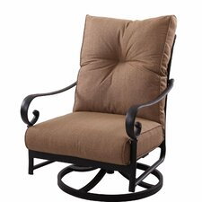 Santa Anita Swivel Club Chair with Cushions
