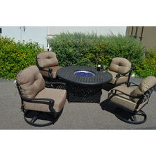 Newport 5 Piece Deep Seating Group with Cushions