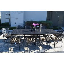 St. Augustine 11 Piece Dining Set with Cushions
