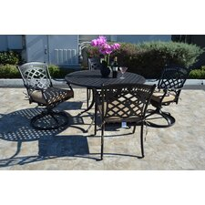 St. Augustine 5 Piece Rocker Dining Set with Cushions