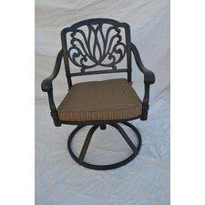 Sicily Swivel Dining Arm Chair