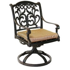 Top Reviews Mandalay Swivel Dining Chair
