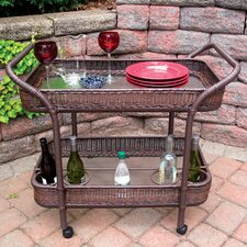Mobile Bar Serving Cart