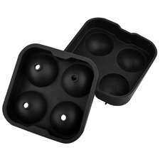Sphere Whiskey Silicone Ice Ball Mold, Set of 2 (Set of 2)