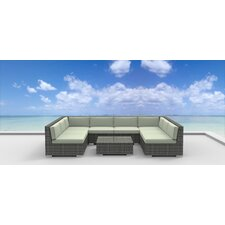Tahiti 9 Piece Deep Seating Group with Cushion