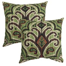 Abecorn Outdoor Throw Pillow (Set of 2)