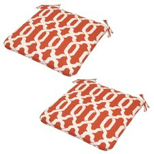 Ogee Outdoor Dining Chair Cushion (Set of 2)
