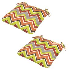 Marquesa Outdoor Dining Chair Cushion (Set of 2)