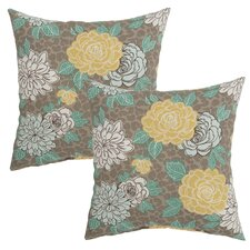 Petula Outdoor Throw Pillow (Set of 2)