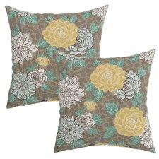 Petula Outdoor Throw Pillow (Set of 2)