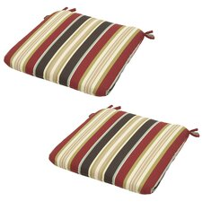 Majestic Outdoor Dining Chair Cushion (Set of 2)