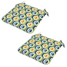 Laramie Outdoor Dining Chair Cushion (Set of 2)