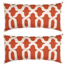 Ogee Outdoor Lumbar Pillow (Set of 2)