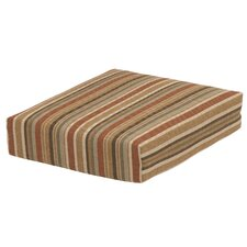 Cayenne Stripe Deep Seating Seat Cushion