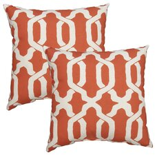 Ogee Outdoor Throw Pillow (Set of 2)