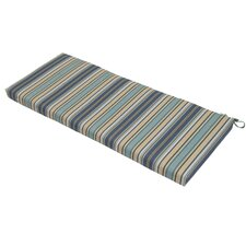 Quebec Stripe Pacific Outdoor Bench Cushion