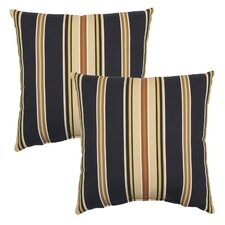 Caprice Outdoor Throw Pillow (Set of 2)