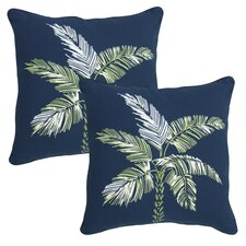 Palm Beach Outdoor Throw Pillow (Set of 2)