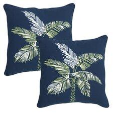 Palm Beach Outdoor Throw Pillow (Set of 2)