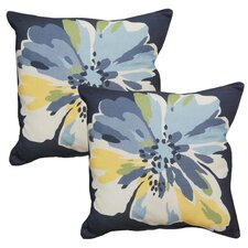 Reviews Outdoor Throw Pillow (Set of 2)