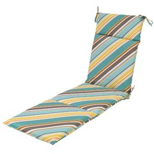 Redmond Stripe Outdoor Chaise Lounge Cushion