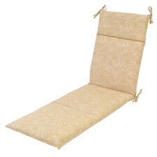 Roux Palm Outdoor Chaise Lounge Cushion